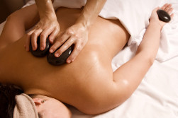 Hot stone massage at Big Toe Studio, Fort Collins, CO
